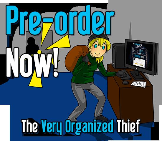 Pre-Order The Very Organized Thief!